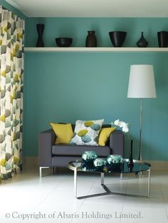 1000 images about gray yellow turquoise on pinterest for Turquoise color scheme living room