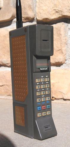 1980s Nokia phone