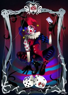 Truth is often the jester. The Jester: Chance or Fate? Clown Faces, Creepy Clown, Character Inspiration, Character Art, Character Design, Jester Tattoo, Alice In Wonderland Drawings, Le Clan, Harley Quinn Drawing