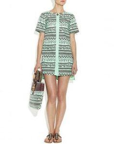 Carla Fernandez tasarımı Camiseta elbise - CELESTE HOURSE | Hipnottis  http://www.hipnottis.com/entry/carla-fernandez-tasarimi-camiseta-elbise