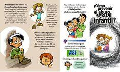 Cómic para la prevención del abuso sexual infantil: FOLLETO PARA PREVENIR