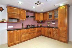 A modular kitchen for perfect cooking  #BestDesignsForKitchens #ModularKitchenCoimbatore http://modular-kitchens.com/kitchen.html
