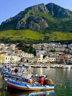Castellammare del Golfo, province of trapani, Sicily, Italy Places Around The World, Oh The Places You'll Go, Places To Travel, Places To Visit, Around The Worlds, Palermo, Dream Vacations, Vacation Spots, Wonderful Places
