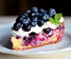 Desserts and Sweets Archives - Page 11 of 13 - One Little Project Best Cheesecake, Blueberry Cheesecake, Cheesecake Recipes, Blueberry Cake, Chocolate Cheesecake, Cheesecake Crust, Köstliche Desserts, Delicious Desserts, Dessert Recipes