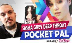 Sasha Grey Deep Throat Pocket Pal Review   Best Male Masturbator Feels Like Sasha's Mouth