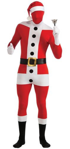 Skintight Santa Costume -Creepy as f*ck.