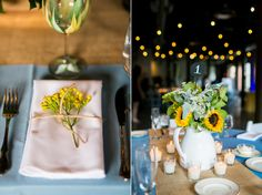 Rustic sunflowers - Kate Parker Designs