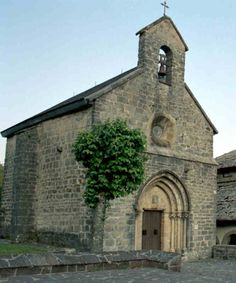 The church of Santiago. The route of saint James Abandoned Churches, Old Churches, Spain Pilgrimage, The Camino, Camino Walk, Spanish Towns, Spain And Portugal, Chapelle, Place Of Worship