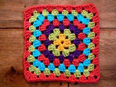 FIFIA CROCHETA blog de crochê : quadradinho square de crochê