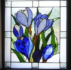 Flowers In Stained Glass - Delphi Artist Gallery