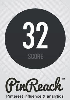 Come Pinreach calcola l'influence score su Pinterest