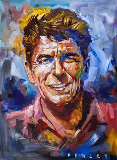 Ronald Reagan - by Steve Penley