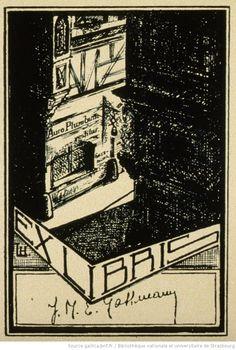 Ex-Libris, J.M.E. Gassmann