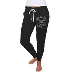 Junk Food Philadelphia Eagles Women s Black Sunday Sweatpants Eagles  Clothing 35aec340d