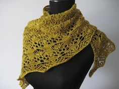 Just beautiful...Belle Haven Shawl by Jen Lucas...available on you-know-where (Raverly)!