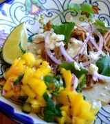 Slow Cooked Sangria Carnitas with Sopes