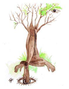"""arbre racines mains"""