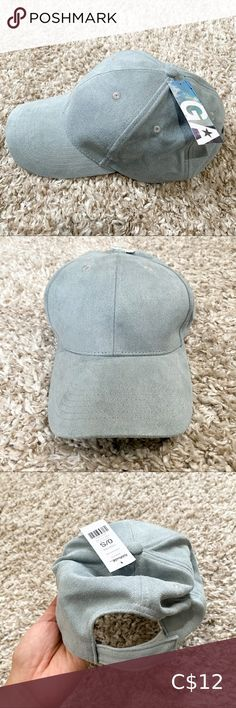 Garage Blue Suede Hat NWT Light blue suede baseball cap Velcro closure Excellent condition Garage Accessories Hats Suede Hat, Blue Suede, Garage Accessories, Women Accessories, Leather Hats, Black Leather, Air Max 90 Kids, Camouflage Colors