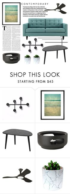 Living Room - Blue / Green by by-jwp on Polyvore featuring interior, interiors, interior design, home, home decor, interior decorating, Broste Copenhagen, Stelton, Menu and living room
