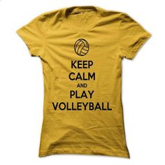 Keep Calm and Play Volleyball - #funny hoodies #wholesale sweatshirts. I WANT THIS => https://www.sunfrog.com/Sports/Keep-Calm-and-Play-Volleyball-60616865-Guys.html?60505