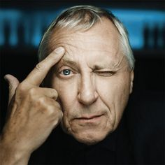 Peter Greenaway (British avant-garde director: The Draughtsman's Contract [1982], A Zed & Two Noughts [1985], Drowning by Numbers [1988], The Cook, The Thief, His Wife, & Her Lover [1989], The Pillow Book [1996])