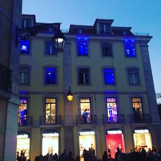 Photo of Lisbon by night in Vogue Fashion night out 2015 on 10 of September 2015 ❤️