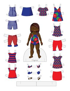 Paper Doll School: Toddler Fashion Friday - Virginia