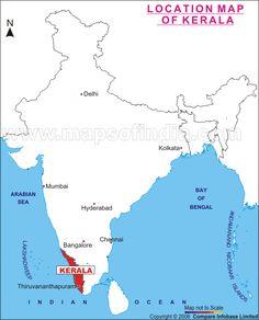 Location Map, Bengal, Chennai, Kerala, Ocean, India, Delhi India, Sea, Bengal Cats
