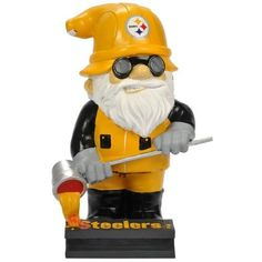 Pittsburgh Steelers NFL Garden Gnome 11 Thematic (Second Edition)