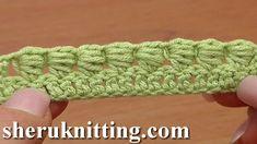 How to Crochet Bullion Block Stitch Tutorial 40 Part 1 of 7 One Way to W...