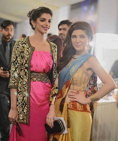Ayesha Omer & Sanam Saeed