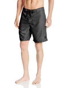 Hurley Men's One and Only Washed Out 19 Inch Boardshort, Black, 28 <3 This is an Amazon Associate's Pin. Click the image to find out more on Amazon website.