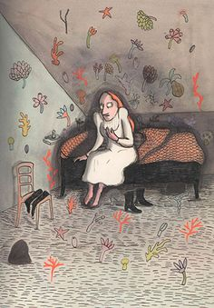 'Opening the door of imagination': the work of Astrid Lindgren award winner Kitty Crowther Winter Illustration, Graphic Illustration, Animal Illustrations, Kitty Crowther, Annie, Learn To Paint, Book Art, Wall Art Prints, Character Design