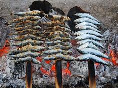 The Orthodox Christian Channel - OCC247: FOOD: Grilled sardines