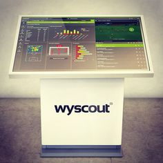 """The #kiosk #exploraireadmagnum 46"""" #touchscreen #sicomputer for #Wyscout, the most advanced platform for #football #pro.  #kiosks #touchstation #playerscouting #premium #device #madeinitaly #luxury #details #totem #digitalsignage #geek #technology #tech #intel #inteliot #corei5 #windows #philipssignage"""