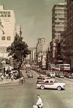 47 Beautiful Old Pictures Documented Street Scenes of Hong Kong in the 1960s