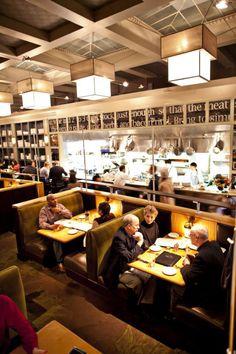 Poste Moderne Brasserie Restaurant serves French inspired cuisine in Washington, D.C.