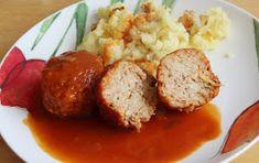 gołąbki bez zawijania Mashed Potatoes, Sausage, Food And Drink, Dishes, Meat, Ethnic Recipes, Whipped Potatoes, Smash Potatoes, Sausages