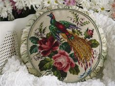 A rare find...this GORGEOUS original tuffett is by my friend Sharon Wollman :)