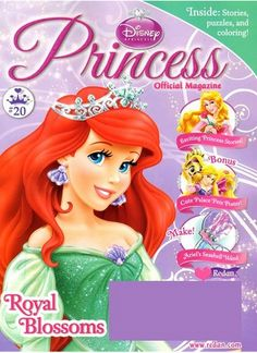 Disney Princess magazine is a children's magazine that immerses young girls in the magical fairy tales of their favorite Disney princesses.