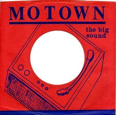 Motown 45 Record Sleeves 1960s