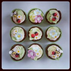 Insect Cupcakes - Beanie's Bakery