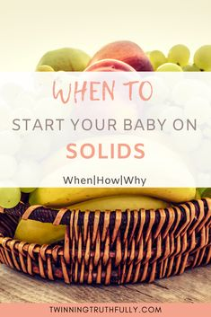 When do you start babies on solids? These are questions that cross every first time mother's mind. Your baby is growing fast and we want to make sure our babies reach all their milestones. Natural Parenting, Kids And Parenting, Parenting Hacks, Baby Puree Recipes, Baby Food Recipes, Baby Apple, Baby First Foods, Baby Cereal, Toddler Meals