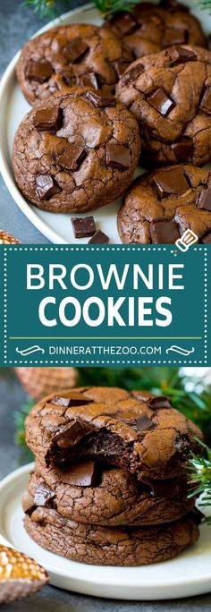 French Delicacies Essentials - Some Uncomplicated Strategies For Newbies Brownie Cookies Recipe Chocolate Cookies Smores Dessert, Diy Dessert, Quick Dessert Recipes, Easy Desserts, Easy Recipes, Chocolate Chip Shortbread Cookies, Marshmallow Cookies, Chocolate Cookie Recipes, Brownie Recipes