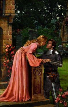 Aleta Rafton art - Knights of the Round Table: Geraint by Gwen Rowley