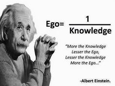More the knowledge lesser the ego...  #inspiration #motivation #wisdom #quote #quotes #life