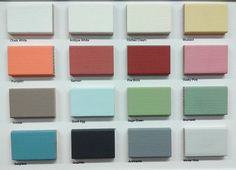 Rustoleum chalky finish paint swatches