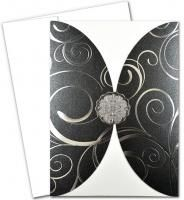 Scalloped Rounded Pocket Invite Kit -(MADE IN USA)