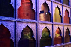 Moroccan windows. Could make somethng like this and put it up as a screen or divider or over a window.