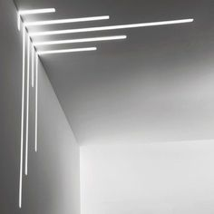 Corporativo Modern Contemporary Led Strip Ceiling Light Design 2 Acne at this Age? Modern Lighting Design, Linear Lighting, Strip Lighting, Interior Lighting, Home Lighting, Ceiling Lighting, Modern Led Ceiling Lights, Lighting Stores, Indirect Lighting
